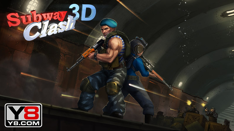 Subway Clash 3d Game Play Online At Y8 Com